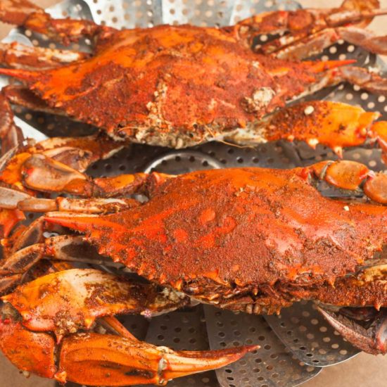 jumbo blue crabs