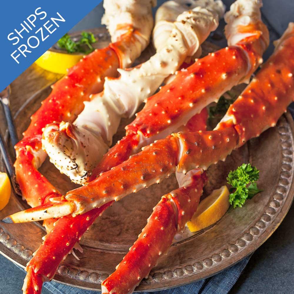 Alaskan King Crab Legs For Sale Jumbo Crab Legs Online