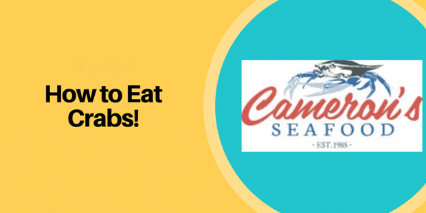 How To Eat Crab Legs – A Guide by Maryland-based Cameron's Seafood