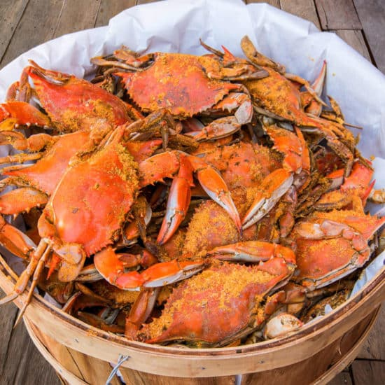 Buy Maryland Blue Crabs Online | Cameron's Seafood