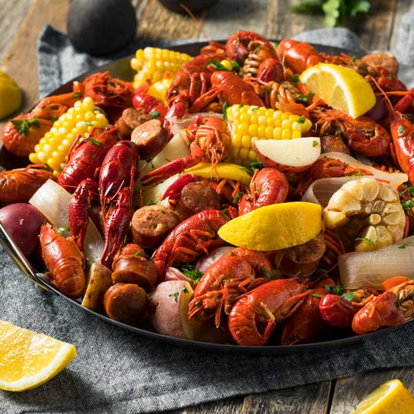 Buy Crawfish Online | Whole Cooked Crawfish for Sale