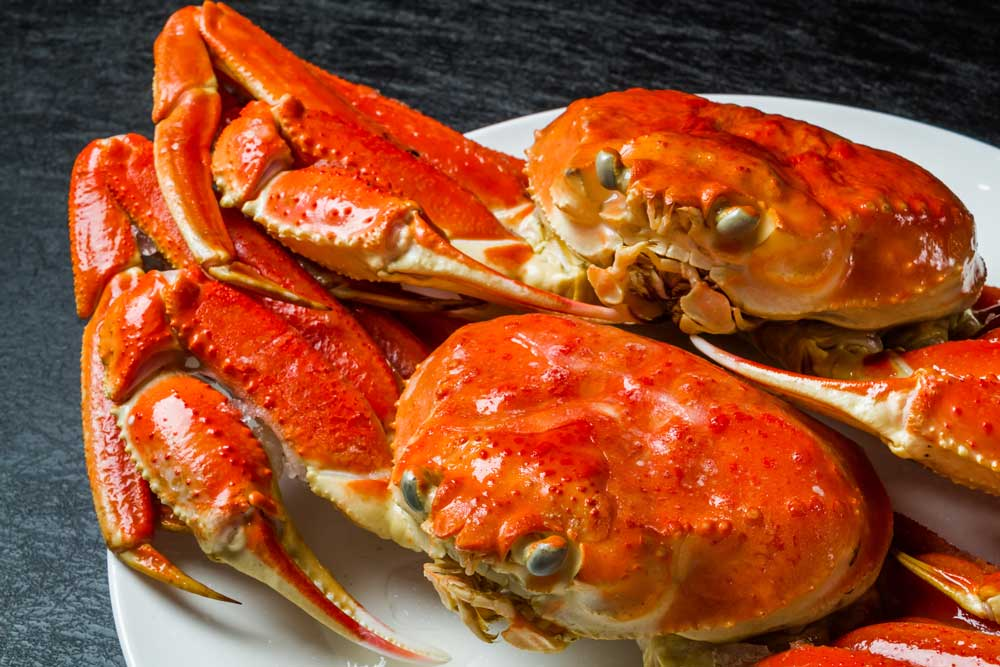 Different Types of Crab Species: Blue, King, Dungeness